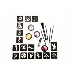 Glitter tattoos fantasie set