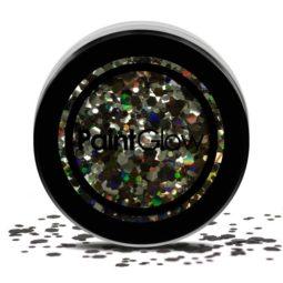 chunky glitters zwart
