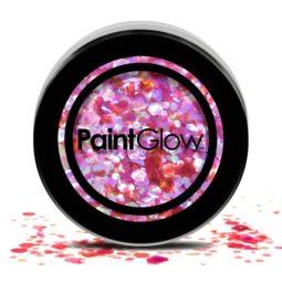 body glitter roze